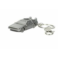Porte clés officiel Retour vers le futur porte clés métal Delorean 7cm