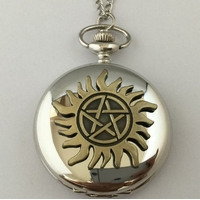 Montre de poche Supernatural symbole anti possession montre supernatural