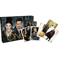 Coffret 2 jeux de cartes Once Upon a time