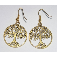Once Upon A Time boucles d'oreilles Regina arbre de vie OUAT regina's earrings