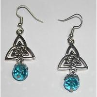 Boucles d'oreilles Charmed symbole triquetra Pouvoir 3 soeurs Charmed earrings