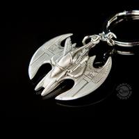 Batman porte cles officiel Batwing en métal sous blister Porte cles Batman