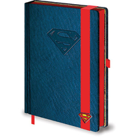 Carnet de notes logo Superman