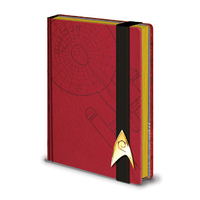 Carnet de notes Star Trek Engineering deluxe