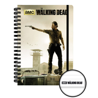 Cahier à spirale The Walking Dead cahier officiel Rick Grimes 90 pages