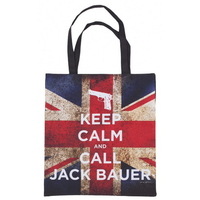 Sac officiel 24 heures chrono Keep calm and call Jack Bauer