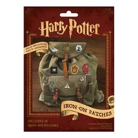 Harry potter pack de 14 ecussons thermocollants blister officiel 14 transferts harry potter