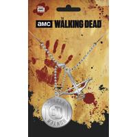 Pendentif officiel The walking dead modèle walker