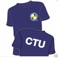 Tee Shirt Jack Bauer cellule anti-terroriste CTU série 24 heures chrono
