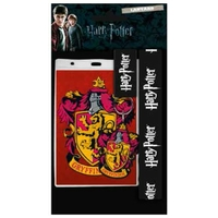 Harry potter pack tour de cou porte clés Gryffindor Harry potter lanyard pack