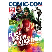 Comic con 2017 magazine Tv Guide special comic con The Flash Arrow 2017