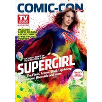Comic con 2017 magazine Tv Guide special comic con Supergirl 2017