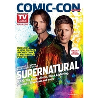 Comic con 2017 magazine Tv Guide special comic con 2017 Supernatural