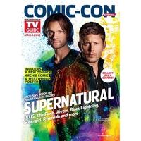Comic con 2017 magazine Tv Guide special comic con 2017 Supernatural