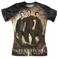 Supernatural Tee shirt femme Join the hunt