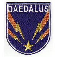 Ecusson de l'equipage du Vaisseau Daedalus dans la série Stargate Atlantis