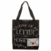 Harry potter Sac shopping officiel sac lettre de poudlard letter to Hogwarts bag HP tote bag