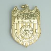 Réplique du badge des agents spéciaux du NCIS badge NCIS