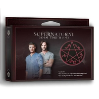 Jeu de cartes Supernatural edition collector