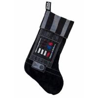 Chaussette de Noël Star wars modèle dark Vador 48 cm Chaussette de noël sonore