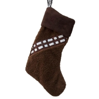 Chaussette de Noël Star wars modèle Chewbacca 47 cm Chaussette de noël Chewbacca