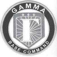 Ecusson de la base Gamma porté par les équipes dans Stargate Universe