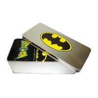 Pack 3 paires de chaussettes Batman avec boite métal taille 41-46