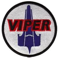 Ecusson Battlestar Galactica porté sur l'uniforme des pilotes de Viper
