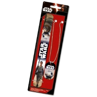 Star Wars episode 7 pack cadeau BB-8 & Rey collier BB8 et bracelet rey