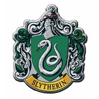 Aimant blason de Serpentard aimant Harry potter sous blister officiel