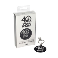 Porte clés officiel Star wars 40th anniversary Star wars limited edition keyring