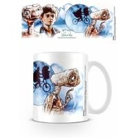 Tasse E.T l'extra terrestre officielle mug ET & Elliott official mug