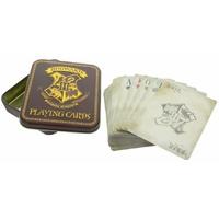 Jeu de cartes à jouer Harry potter cartes à jouer Poudlard dans boite métal