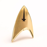 Star Trek Discovery réplique 1/1 Starfleet Division badge Command