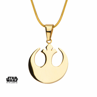 Collier Star Wars Symbole Alliance pour femme