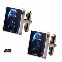 Boutons de manchette Star Wars Officiels Dark Vador Star Wars official cufflinks