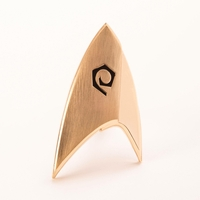 Star Trek Discovery réplique insigne Starfleet badge division Operations