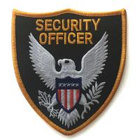 Ecusson cosplay agent de securité security officer ecusson securité