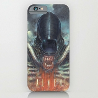 Coque Alien Xenomorphe Blood pour Iphone 6/6s plus
