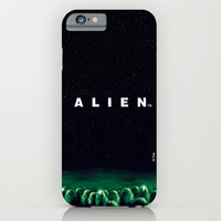 Coque Alien logo film officielle pour Iphone 6/6s plus