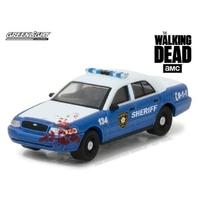 Voiture de police de Rick grimes dans The walking Dead