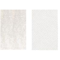 Velcros blanc male et femelle pour ecusson rectangle type paintball