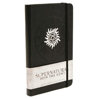 Supernatural carnet de notes logo anti-possession
