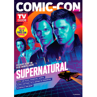 Magazine Tv Guide special Supernatural comic con 2018