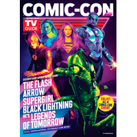 Magazine Tv Guide comic con San Diego 2018 Supergirl The Flash Arrow