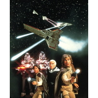 Photo officielle 20x25cm Battlestar Galactica années 80