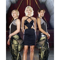Photo officielle casting Battlestar Galactica 20x25cm