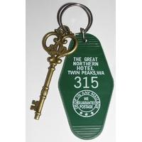 Twin Peaks clés de l'hotel Great Northern