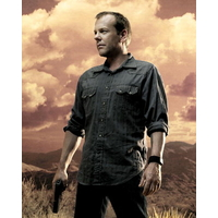 Photo officielle Jack Bauer dans la serie 24 Heures chrono
