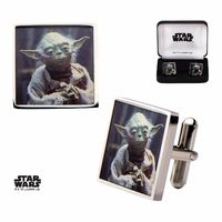 Boutons de manchette Star Wars Yoda